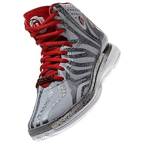 Adidas D Rose 4.5 J G99512 Clear Grey Light Scarlet Dark Onix Kids Boys  Basketball Shoes (Size 6.5) - Buy Online in UAE.  25cc9cc2b5