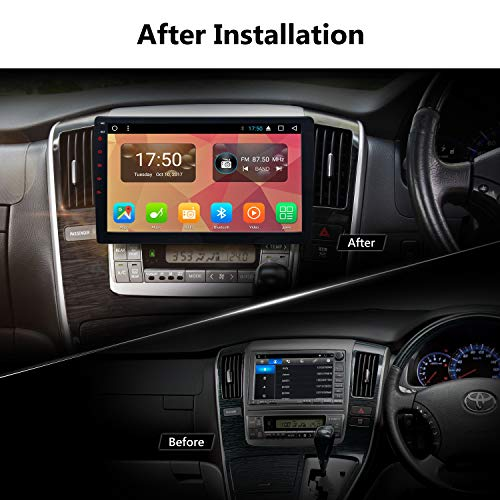 Eonon Double Din Car Stereo DVD Player,Android Car Stereo,Android 7 1 Car  Stereo Radio Octa-Core Processor with GPS and WiFi,Support Fastboot,10 1