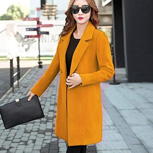 Unicolore Classique Femme Printemps Qualit Trench Casual Styles Young Manteau Mode De Haute Longues Automne Slim Fit pBwq5