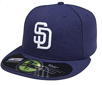 MLB San Diego Padres Game AC On Field 59Fifty Fitted Cap-758