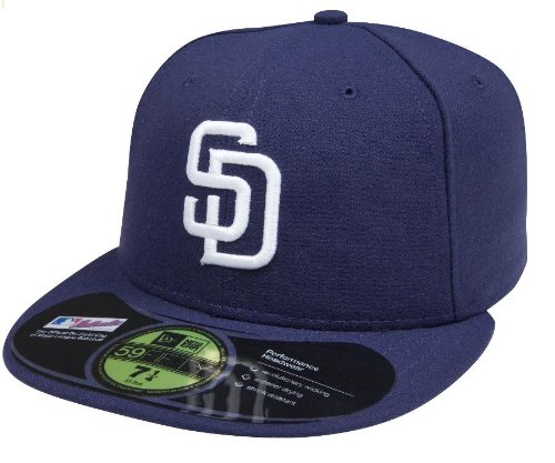 separation shoes 78e66 e0557 New Era MLB San Diego Padres Game AC On Field 59Fifty Fitted Cap-700