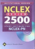 NCLEX Review 2500 Study Software for Nclex-Pn, Springhouse Publishing Company Staff, 1582552649