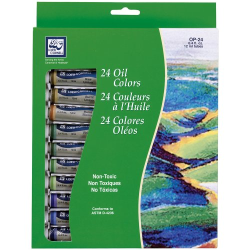 loew-cornell-12-milliliter-oil-paint-24-pack-assorted