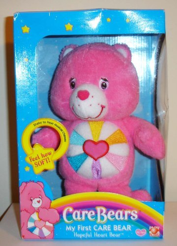 2005 My First Care Bear Plush Hopeful Heart Bear (2005 Care Bears)