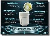 New Chrono Ultrasonic Cool Mist Humidifier with