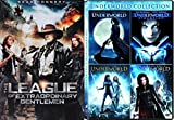 Underworld Quadrilogy + The League Of Extraordinary Gentlemen Super movie Set - Vampires & Lycans