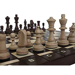 Chessebook BUG - Ajedrez de Madera, Tablero de 40 x 40 cm 1