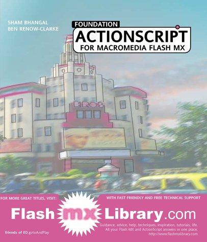 Read Online Foundation ActionScript for Flash MX pdf epub