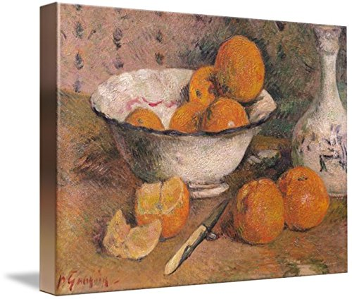 (Imagekind Wall Art Print Entitled Still Life with Oranges, 1881 by The Fine Art Masters | 10 x 7)