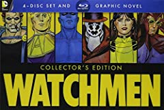 NOTE: Please Ignore the expiration date on the UV code. The Code is still VALID and can be redeemed. Watchmen: Ultimate Cut + Graphic Novel (Blu-Ray)  Someone's killing our super heroes. The year is 1985 and super heroes have banded together ...
