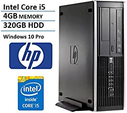 2016 HP Elite 8200 Business Small Form Factor Desktop Computer (Intel i5 Quad Core up to 3.3GHz Processor), 4GB DDR3 RAM, 320GB HDD, DVD, RJ45, Windows 10 Professional (Certified Refurbished)