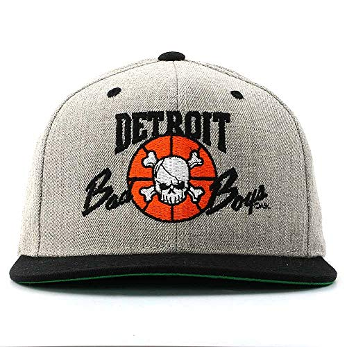 - Detroit Pistons Bad Boys Apparel- Historic Vintage NBA Snapback Hat