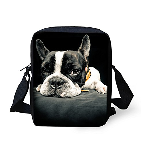 french bulldog messenger bag - 4