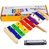Smarkids Kids Xylophone Wooden Musical Toys Prime 8 Note...