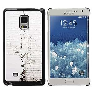 Exotic-Star ( Brick Wall White Architecture ) Fundas Cover Cubre Hard Case Cover para Samsung Galaxy Mega 5.8 / i9150 / i9152