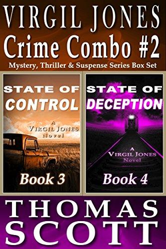 Mystery Thriller Suspense: Virgil Jones Novels: State of Control & State of Deception Box Set