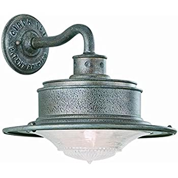 troy lighting b9390or south street 1lt wall downligh from south