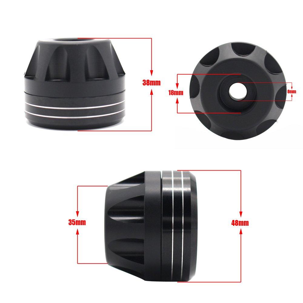 Motorcycle Aluminum Front & Rear Axle Fork Crash Sliders Wheel Protector For SUZUKI GSXR650 GSXR750 GSX-R 600/750 2011-2014
