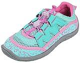 Best Northside Waterproof Shoes - Northside Kid's Brille II Summer Water Shoe, Aqua/Pink Review