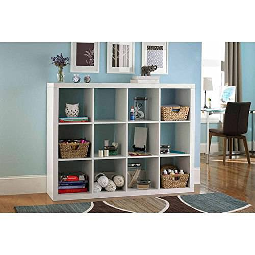 Better Homes and Gardens 12-Cube Organizer (White) by Better Homes and Gardens