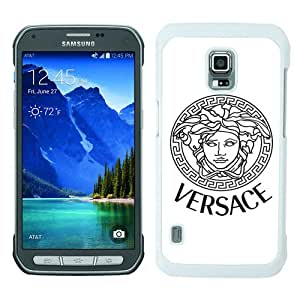 Unique Samsung Galaxy S5 Active Case ,Hot Sale And Popular Designed Case With VERSACE White Samsung Galaxy S5 Active Cover Phone Case