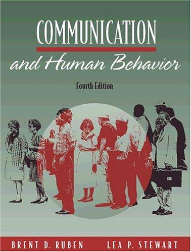 Communication and Human Behavior (4th Edition)