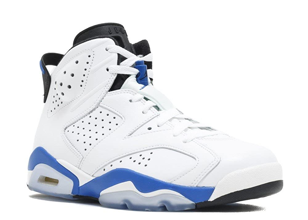 reputable site 65078 2149f Nike Air Jordan 6 Retro Leather Basketball Shoes