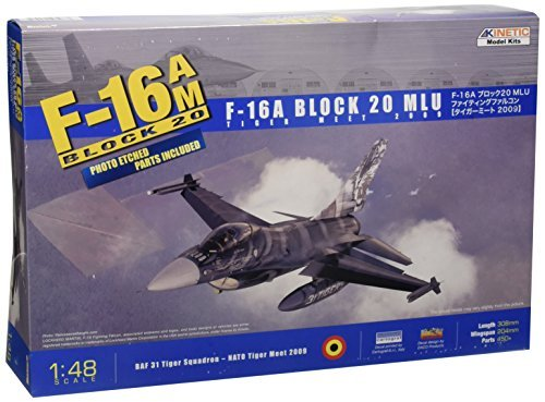 1 48 F-16AM Block 20 MLU Tiger Meet 2009 by KINETIC MODEL