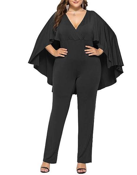 Amazon.com: ProDIgal - Traje de mujer de pierna ancha con ...