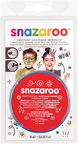 Reeves Snazaroo Face Paint, 18ml, Bright (Elf Face Paint Halloween)