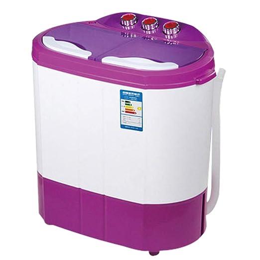 Washer Mini Lavadora De Tina Doble (4.5kg Lavado 240w + 2.5kg ...
