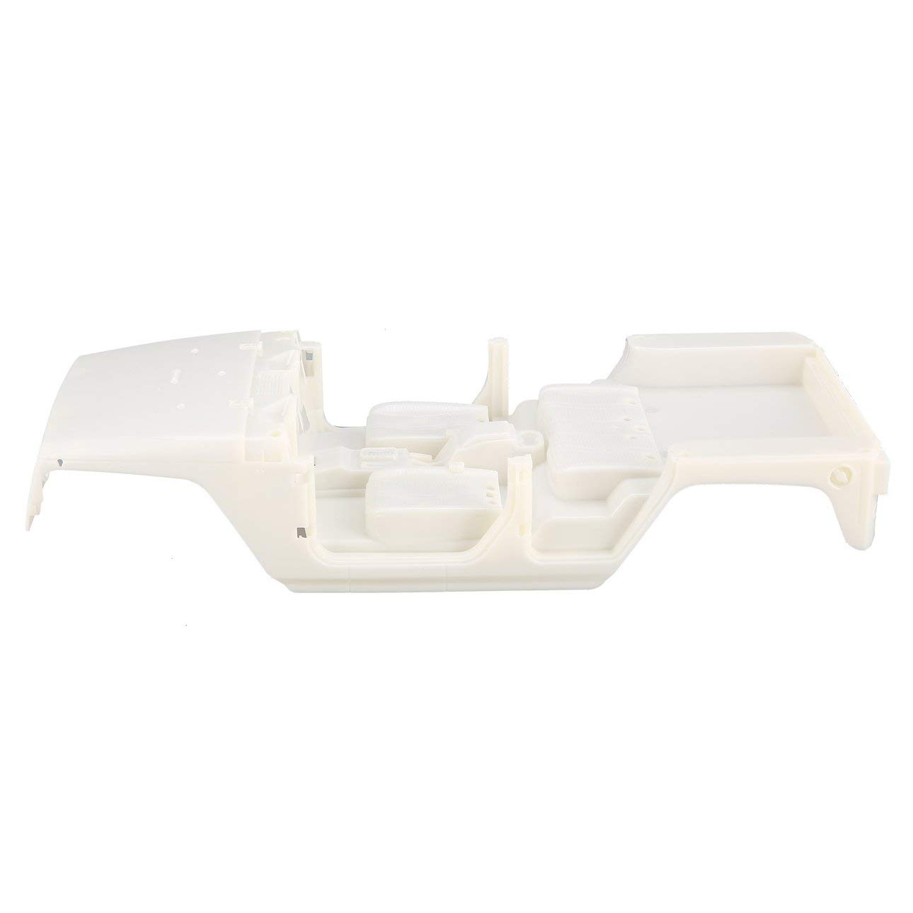 Ballylelly Carrozzeria in plastica Rigida Non assemblata Carrozzeria Kit Fai da Te per interasse 313mm 1//10 Wrangler Jeep Axial SCX10 RC Car Crawler Veicolo