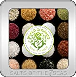 World Gourmet Sea Salt Sampler in Embossed Tin