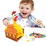 Children's Educational Toys Tricky Chicken Turntable Laying Eggs Lucky Chicken Parent-child Interactive Desktop Games