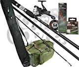 Beginners Float Match Fishing Outfit SetUp Rod Reel With Luggage & Tackle Bundle Made By NGT
