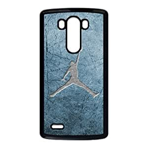 LG G3 Cell Phone Case Black Jordan logo O2430945