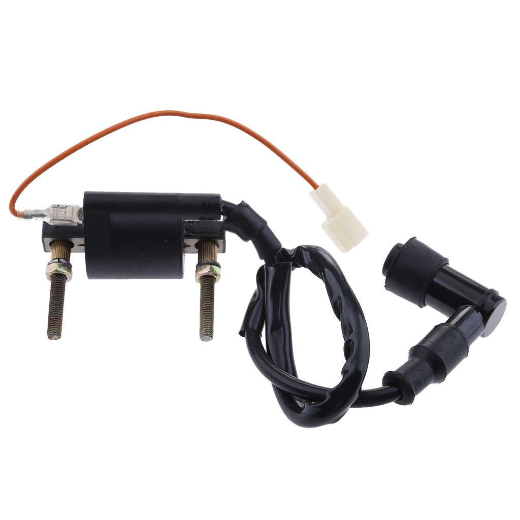 Global Mantra Black Motorcycle Ignition Coil for Yamaha PW80 Peewee