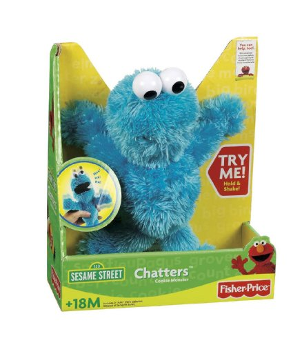 Fisher-Price Chatters Cookie Monsters ()