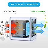 IB SOUND Personal Air Conditioner, Air Personal Space Cooler with Humidifier and Air Purifier USB Mini Portable Air Conditioner,