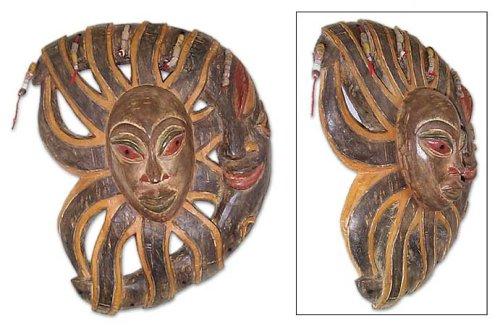 NOVICA Máscara de madera, ojo del brujo: Amazon.es: Hogar