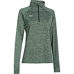 Under Armour UA Sideline Twisted Tech 1/4 Zip, Forest Green, extra-large