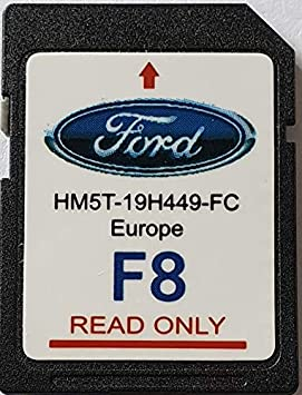 Tarjeta SD GPS Ford Sync2 F8 Europe 2019 - HM5T-19H449-FC