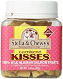 Stella & Chewy's Carnivore Kisses Salmon Dog Treats, 1.65-Ounce