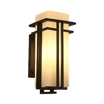 SLitteR Lighting IP33 E27 rétro extérieur intérieur lampe murale ...