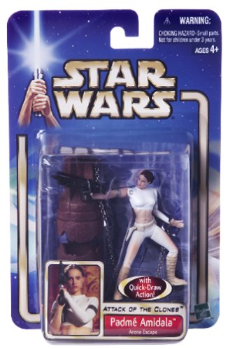 Star Wars Arena Escape Action Figure Hasbro Toys 84855 Episode 2 Padme Amidala