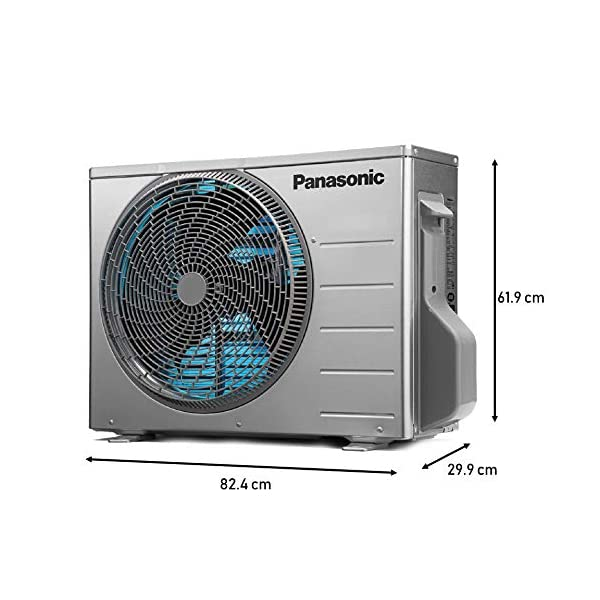 Panasonic 1 Ton 4 Star Wi-Fi Inverter Split AC (Copper, Nanoe air purification technology, 2020 Model, CS/CU-WU12WKYXF… 2021 July Wi-fi Split AC with inverter compressor: variable speed compressor which adjusts power depending on heat load. It is most energy efficient and has lowest-noise operation Capacity: 1 ton - suitable for small sized rooms (< = 110 square ft) Energy Rating: 4 Star, annual energy consumption: 685.68 kwh, ISEER value: 4.05