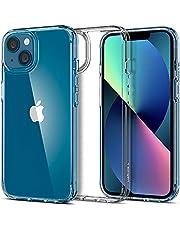 Spigen Ultra hybrydowe etui kompatybilne z iPhone 13 Mini [Anti-Yellowing] cienkie przezroczyste twarde etui silikonowe etui na telefon komórkowy -Crystal Clear