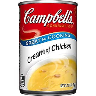 Campbell's Condensed Soup, Cream of Chicken, 10.5 Ounce