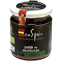 EcoSpain Paté de Aceitunas Negras Ecológicas - 220