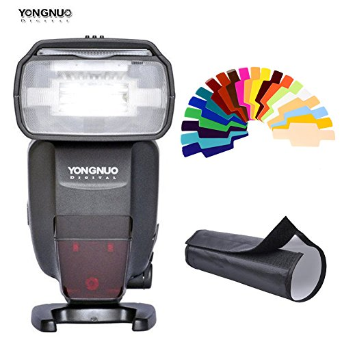 YONGNUO YN600EX-RT Auto TTL 2.4G Wireless HSS 1/8000s Master Flash Speedlite with Radio Slave for Canon - Ttl Auto